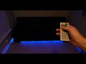 Couch Led : led under couch lighting how to make your couch modern ~ Pilothousefishingboats.com Haus und Dekorationen