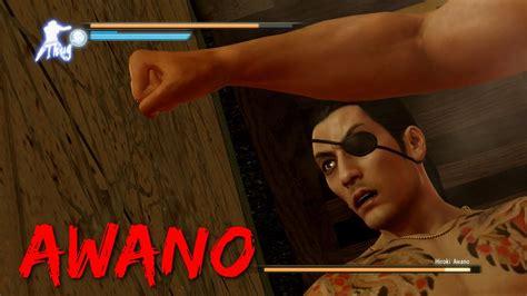 yakuza  boss battles  hiroki awano legend youtube