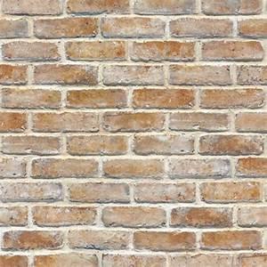 Vintage Shabby Brick Self Adhesive Wallpaper Home DEPOT ...