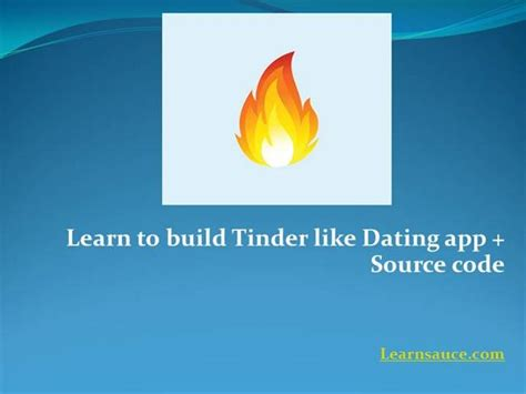 tinder template to download guide to create tinder like dating app source code
