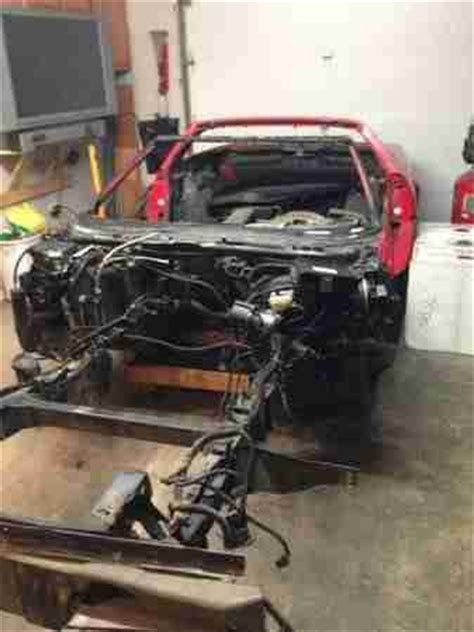 purchase used 1992 corvette clean title c4 1993 1994 1995 1996 chassis frame in mullica hill