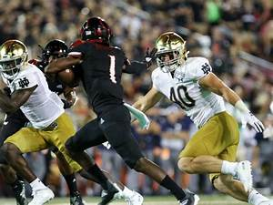 Louisville Football Depth Chart Sustained Success Can Help Notre Dame Lb Drew White Shed