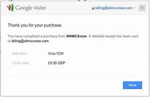 google wallet send invoice whmcsnow google wallet payment With google wallet send invoice