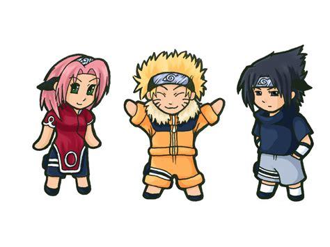 Naruto Sasuke And Sakura Chibi By Amberdust On Deviantart