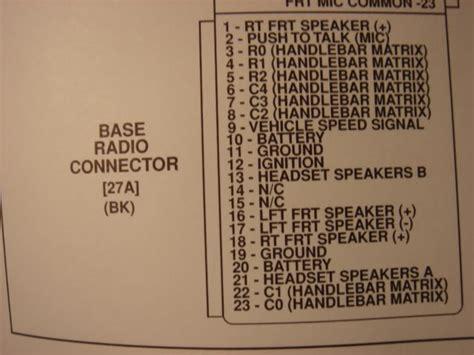 harley radio wiring diagram 27 wiring diagram images