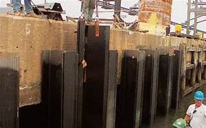 Wharf structures upgrade and harbour deepening with ...