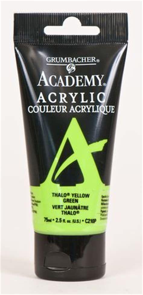 grumbacher academy acrylic paint chart color acrylics paint charts and charts