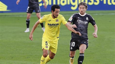 Resumen Real Madrid vs Villarreal empate 1-1