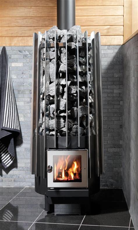 rocher wood sauna stove  helo modern style   oven