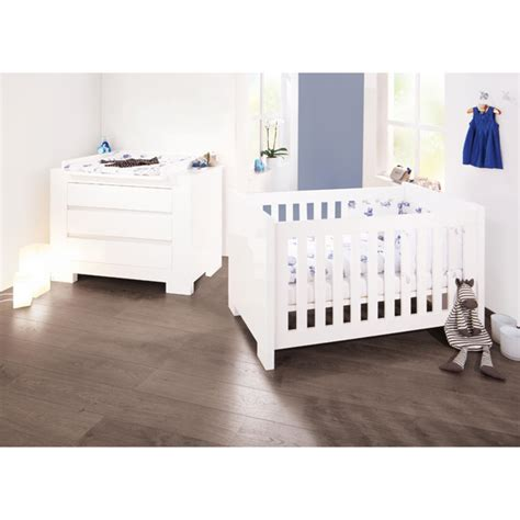 chambre bébé sky laqué blanc pinolino natiloo com la