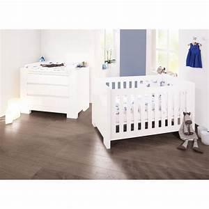 Chambre Enfant Blanc : chambre b b sky laqu blanc pinolino la r f rence bien tre bio b b ~ Teatrodelosmanantiales.com Idées de Décoration