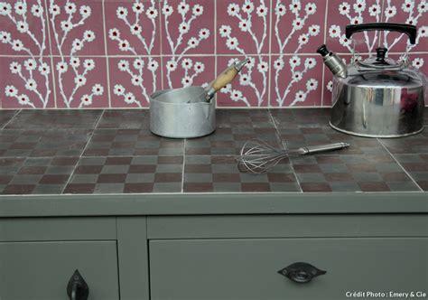 carrelage plan de travail pour cuisine carrelage plan de travail cuisine renover crdence cuisine