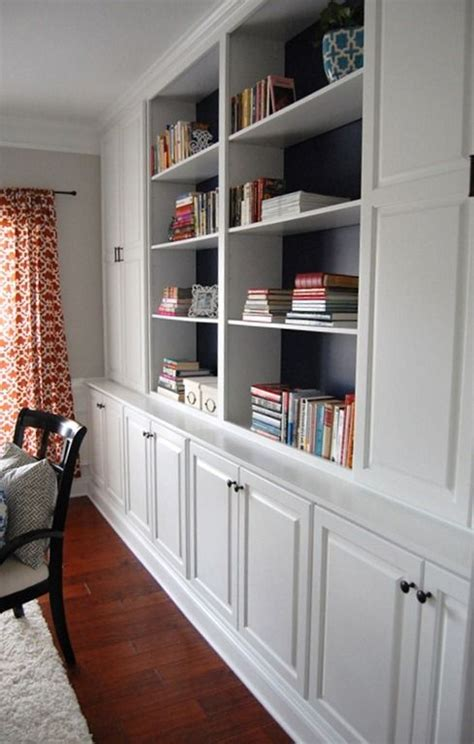Bookcases With Cabinets by Built In Bookcases With Cabinet Bottoms Home Decor