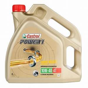 Huile Moto 10w40 Leclerc : huile moteur castrol power 1 gps 4t 10w 40 4 litres huiles lubrifiants ~ Medecine-chirurgie-esthetiques.com Avis de Voitures