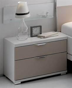 Nachttisch Weiß Glas : staud sinfonie plus nachttisch wei mit glas viele farben m belmeile24 ~ Indierocktalk.com Haus und Dekorationen