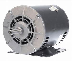 2 Hp Belt Drive Blower 3 Phase Motor 1725 Rpm 208 460v Dayton 4yu40