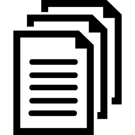 Documents Symbol Icons  Free Download