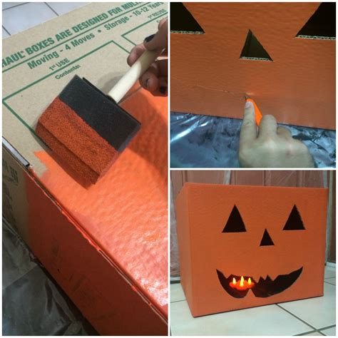 Create Halloween Décor Using Moving Boxes Frywagner