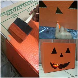 Create Halloween Décor Using Moving Boxes Fry-Wagner