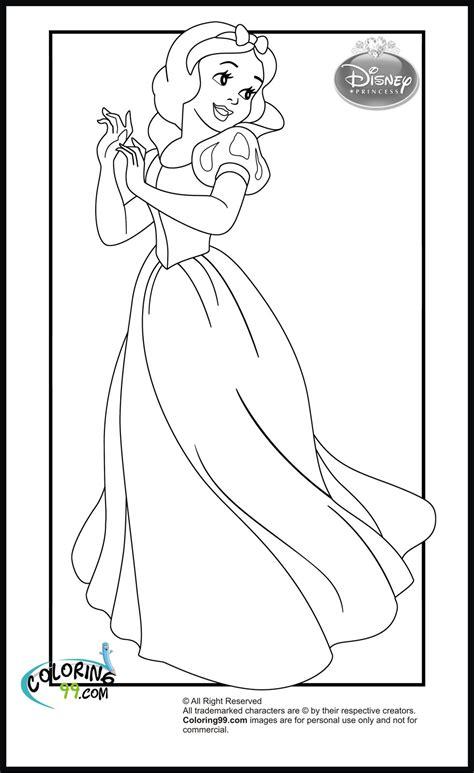disney princess snow white coloring pages | Princess coloring pages, Disney princess coloring