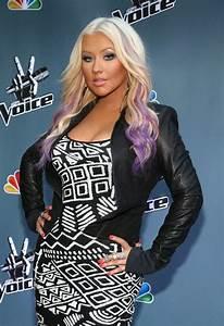 Christina Aguilera New Hair Color 2012 Hair Coloring