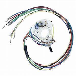 Mustang Turn Signal Wiring With Fixed Steering Wheel 1968
