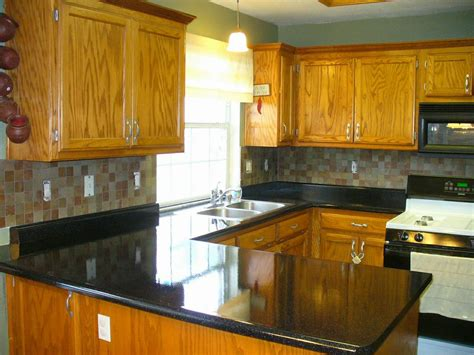 Kitchen Countertops Refinished In Flint Stone  After From