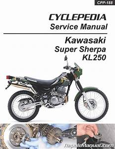 Kl250 Super Sherpa Kawasaki Motorcycle Service Manual