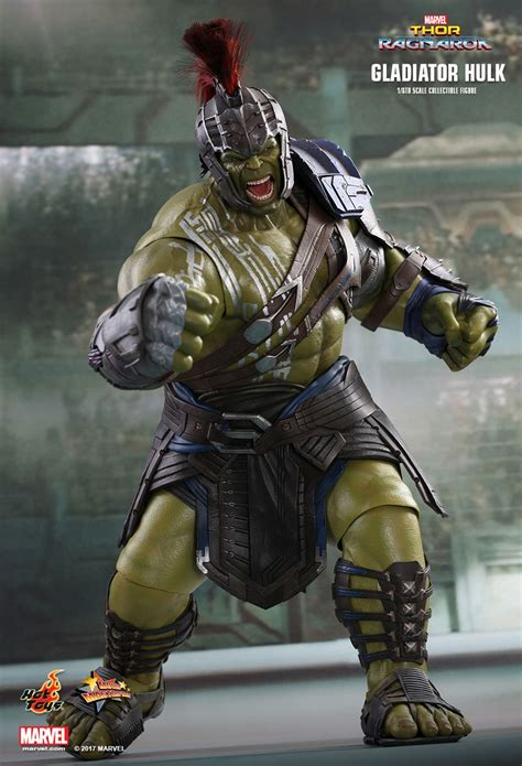 hot toys thor ragnarok gladiator hulk 1 6th scale