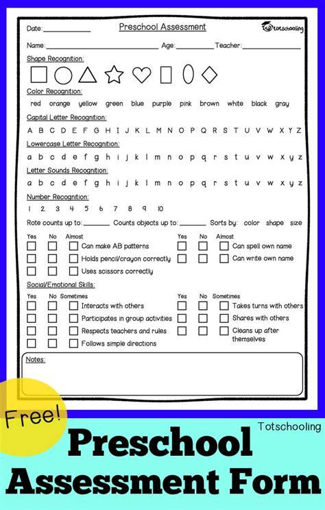 free preschool assessment form goose time 781 | 23b1c4a82615b46e828586e78f9a39ca