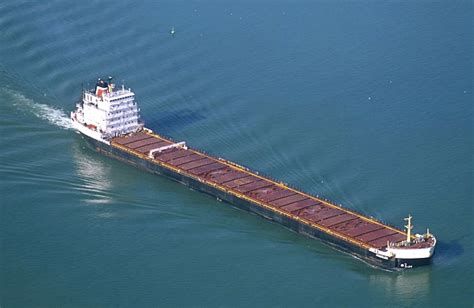Boat Ore by Airphoto Aerial Photograph Of Iron Ore Boat Detroit