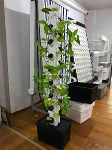 2018 New Vertical Tower Hydroponic Growing Systems For