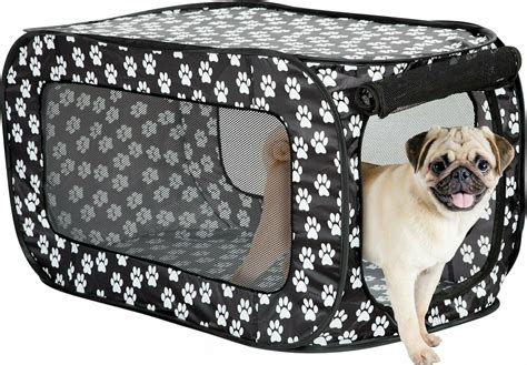 folding soft dog crate pet kennel crate pop  indoor outdoor pet house portable great