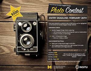 Photo Contest - $550 in Prizes - Center for Socially ...  Contest