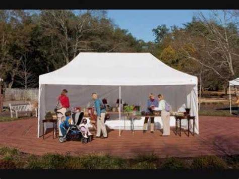 pop tents instant canopies ez style youtube