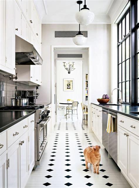 cuisine carrelage blanc carrelage cuisine noir et blanc