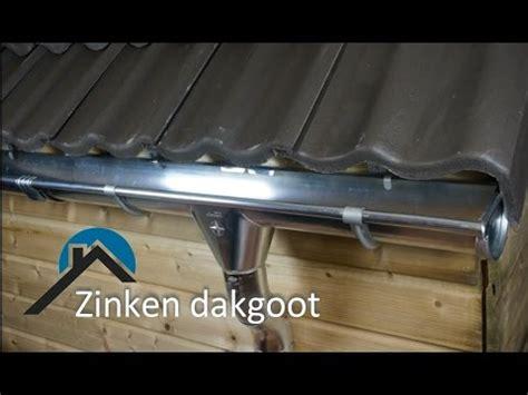 solderen zinken dakgoot zinken dakgoot monteren zonder solderen youtube