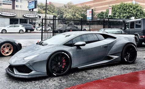 lamborghini gray grey liberty walk lamborghini huracan is a sight to behold