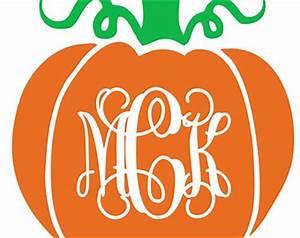 monogram clipart clipart for work With monogram pumpkin templates