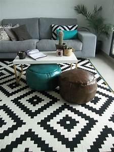 le tapis scandinave 100 idees partout dans la maison With les tapis chez ikea