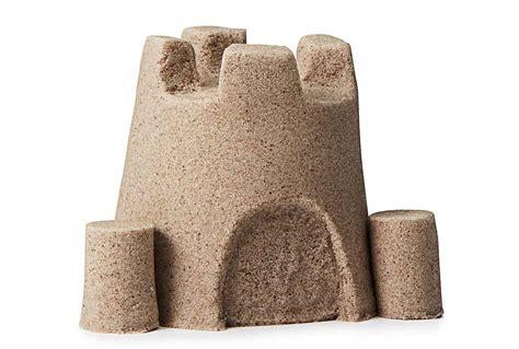 build sand castles indoors