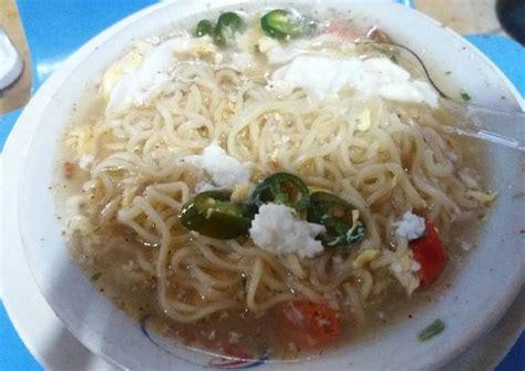 Setelah mendidih masukkan mie dan wortel. Resep mie kuah telur cabe hijau oleh recha fatmanilla ...