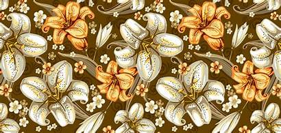 Seamless Texture Flower Pattern Textures Wallpapers Dog