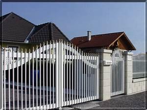 Zaun Weiß Holz : aluminium ~ Sanjose-hotels-ca.com Haus und Dekorationen