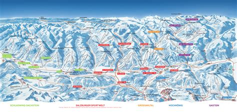 ski amade piste map  downloadable piste maps