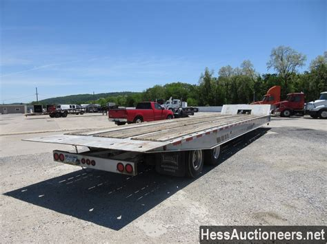 used 1991 landoll 48 drop deck trailer for sale in pa 24069