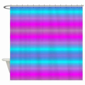 Fluorescent Neon Shower Curtain by stolenmomentsph