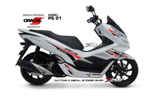 Pcx 2018 Mesin by Jual Stiker Pcx Putih 2018 Cutting Sticker Pcx Lokal Di