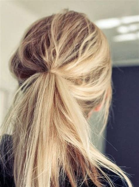 cute ponytail hairstyles   ponytails