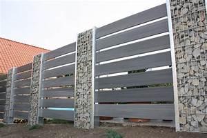 Gabionen Aus Polen : wpc zaun cool wpc zaun mit stecksystem with wpc zaun ~ Michelbontemps.com Haus und Dekorationen